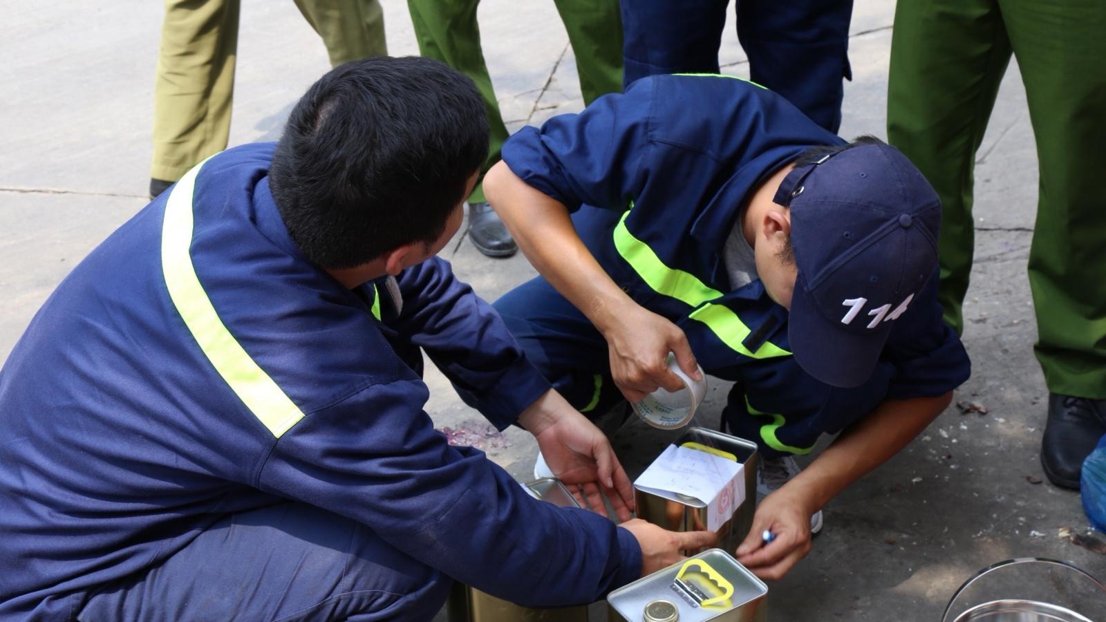 CônganĐồng Nai thôngtin việc khám xét trạm xăng ở TP.HCM và Bình Phước