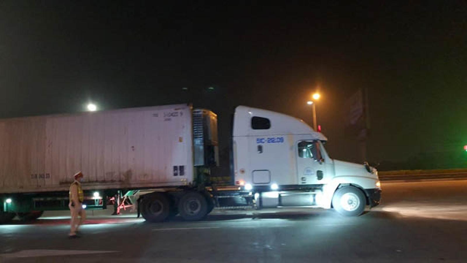 CSGT ra quân xử lý xe chở quá tải trọng từ ngày 1/4