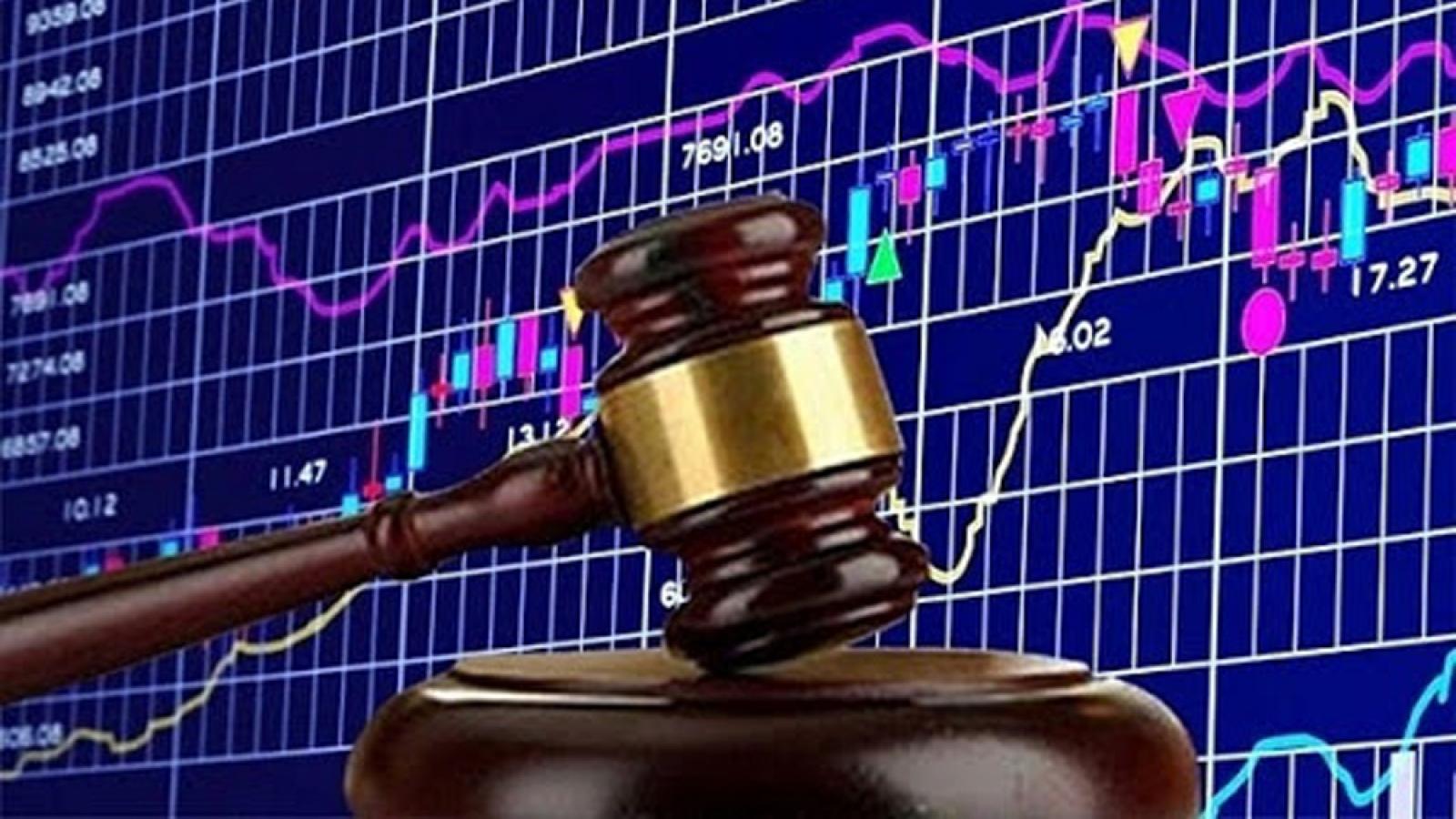 Vi phạm hành chính trong lĩnh vực chứng khoán, nhiều DN, cá nhân bị phạt tiền