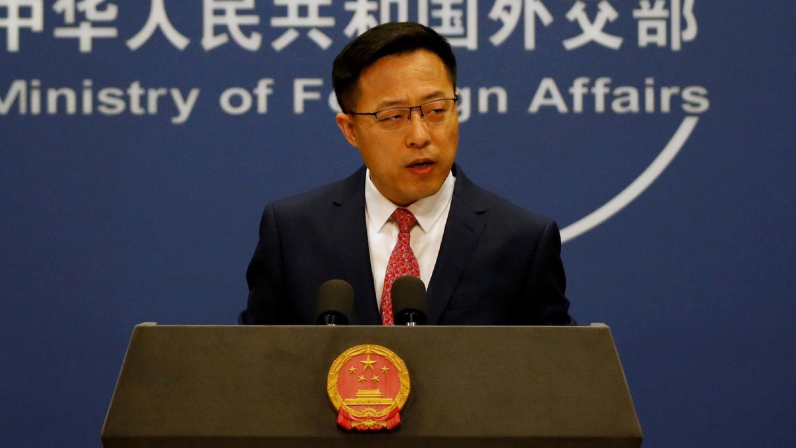 Trung Quốc đáp trả lệnh trừng phạt của EU