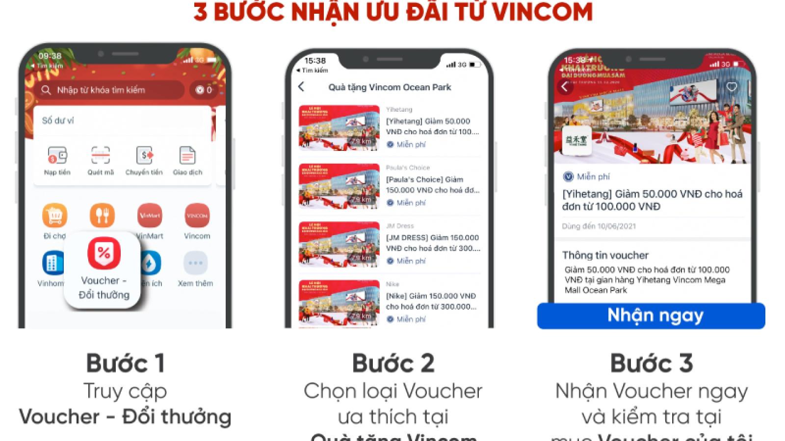 """Vincom """"chơi lớn"""" tung ra hàng triệu voucher với tổng giá trị tới gần 80 tỷ đồng"""