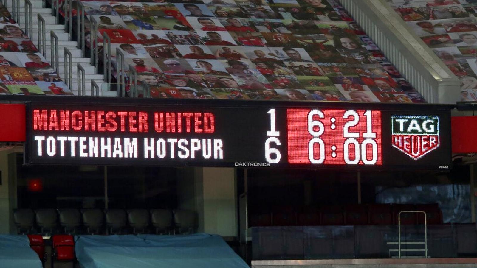 TRỰC TIẾP Tottenham - MU: Xua cơn ác mộng chơi tennis