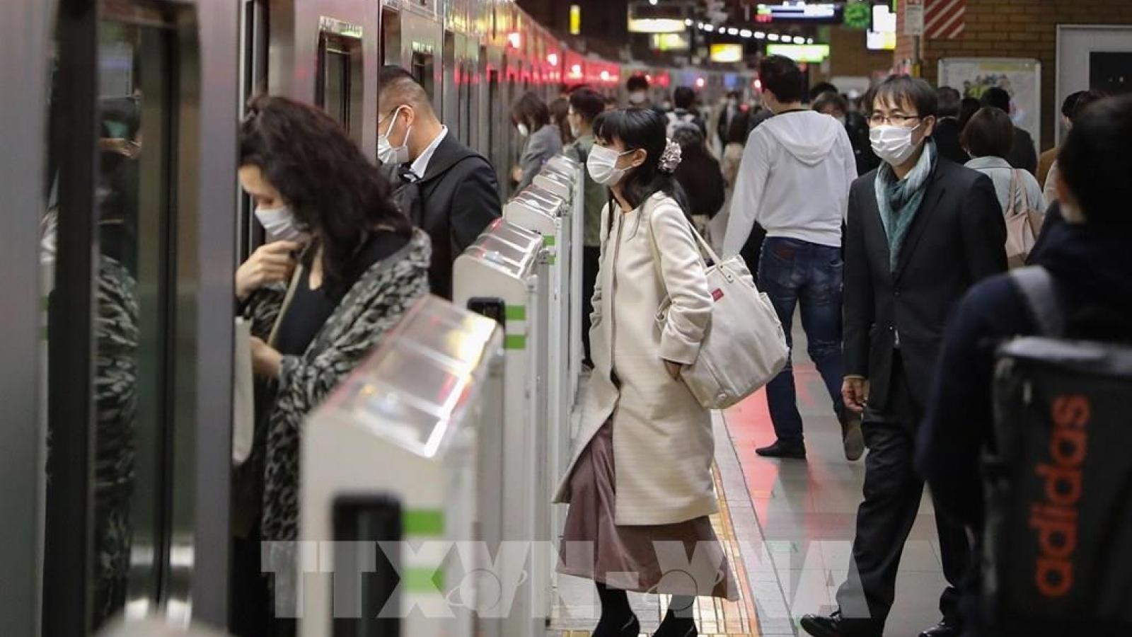 Nhật Bản lần thứ 3 phải tuyên bố tình trạng khẩn cấp vì Covid-19