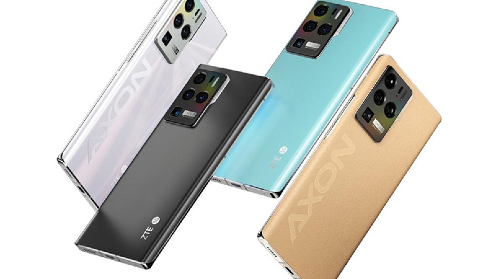 ZTE Axon 30 Ultra ra mắt với 3 camera 64 MP