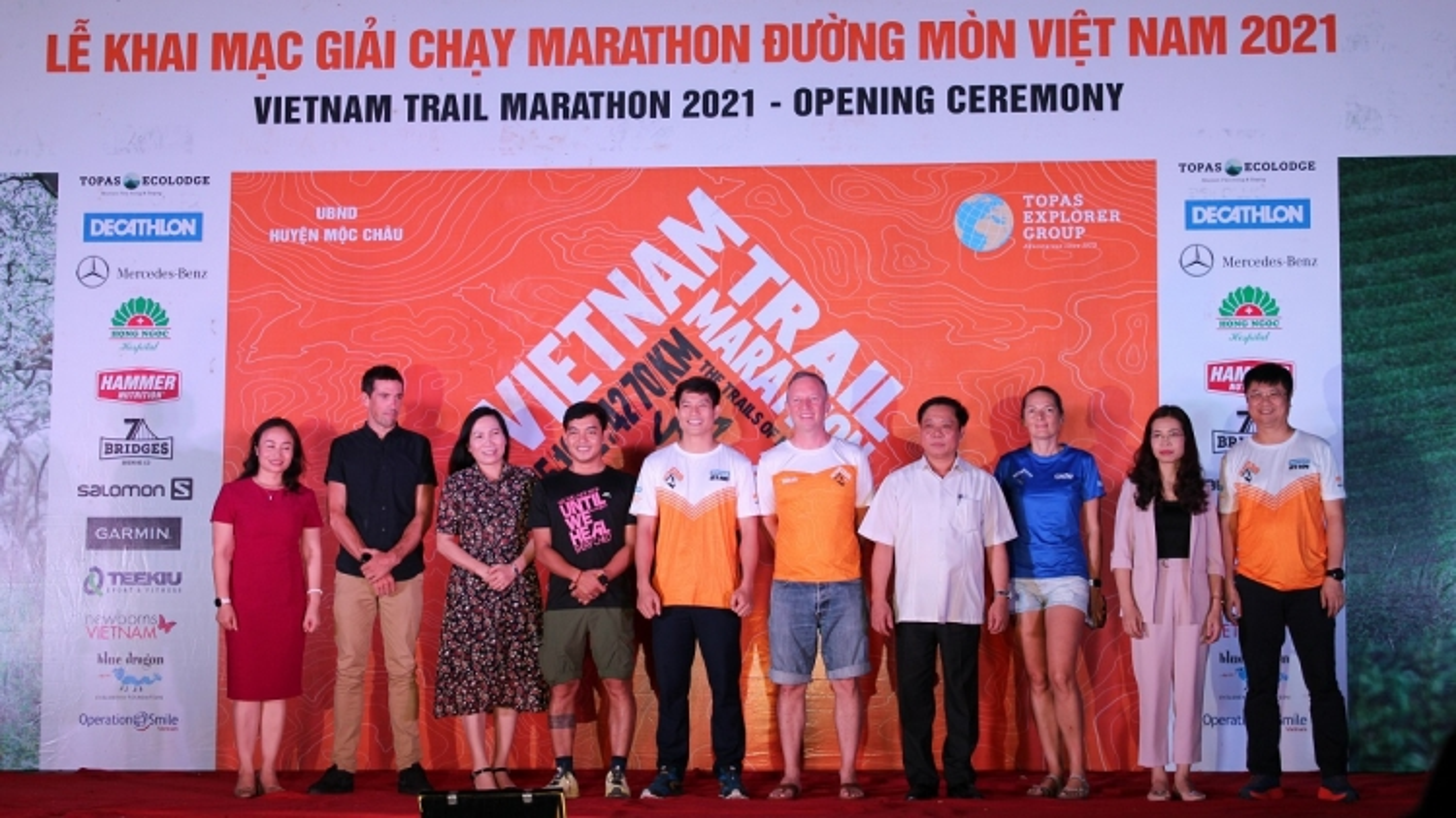 Khai mạc giải Marathon đường mòn Việt Nam năm 2021 tại Mộc Châu