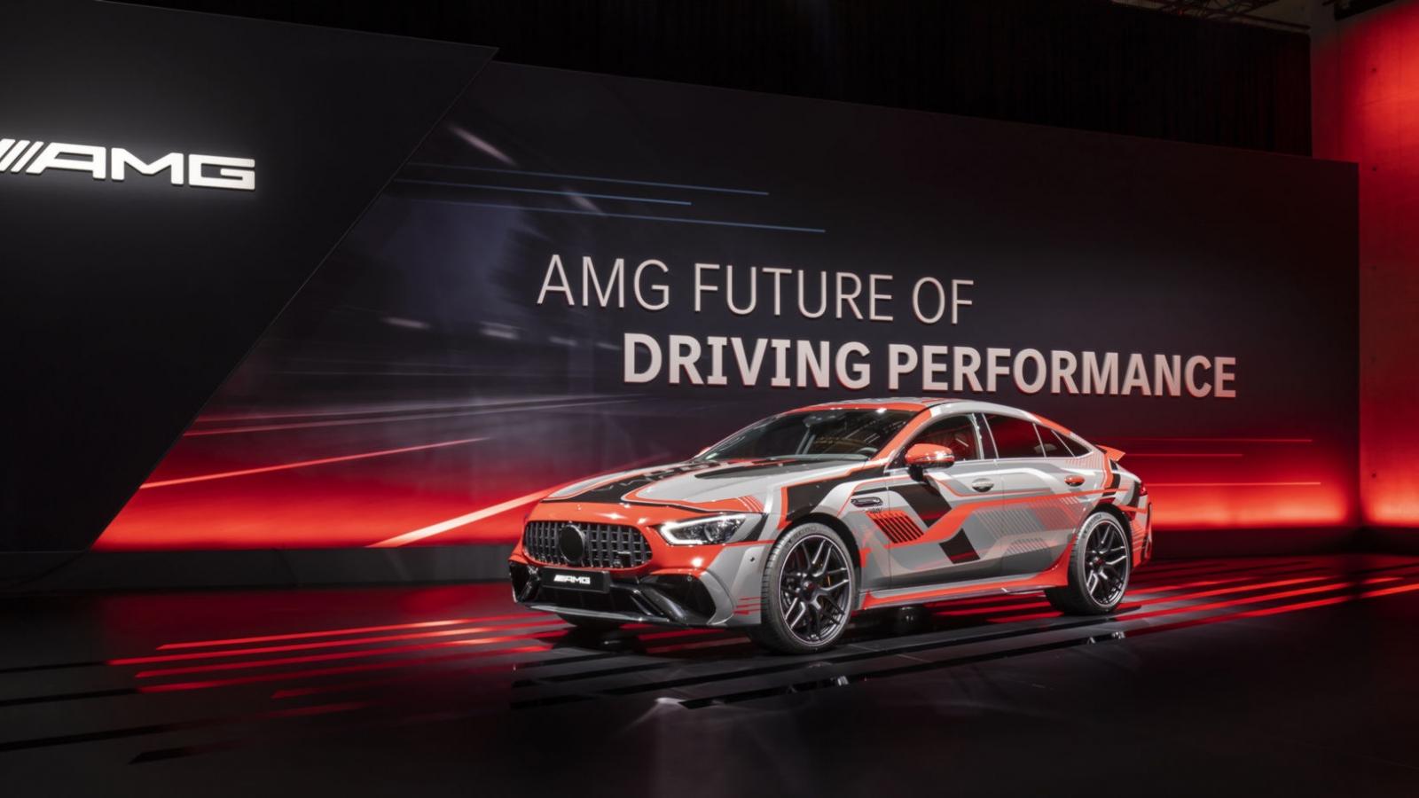 Những mẫu EV sắp tới của Mercedes-AMG có sức mạnh vô cùng ấn tượng