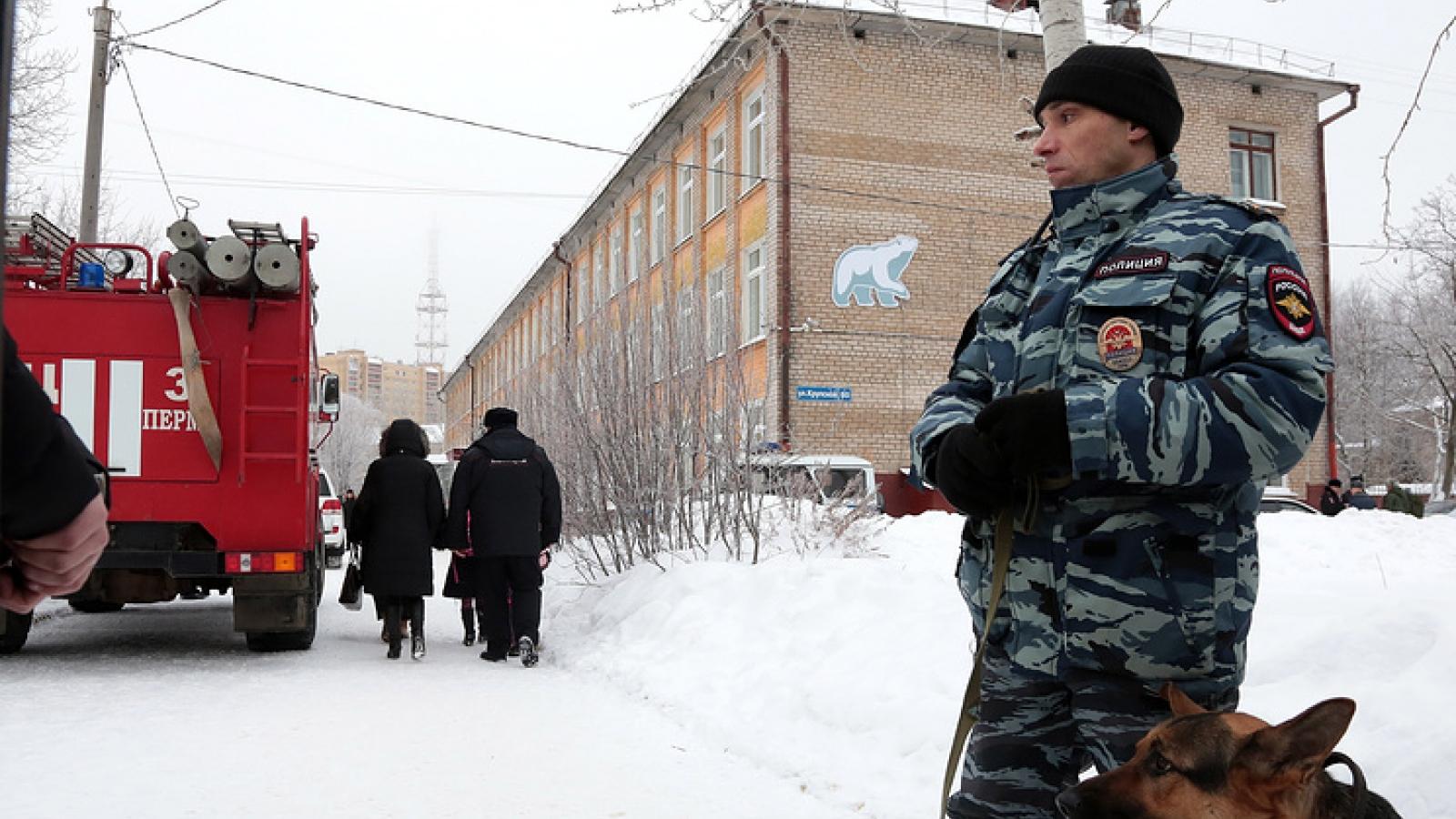 Nga sơ tán khẩn cấp 70 trường học bị đe dọa đánh bom