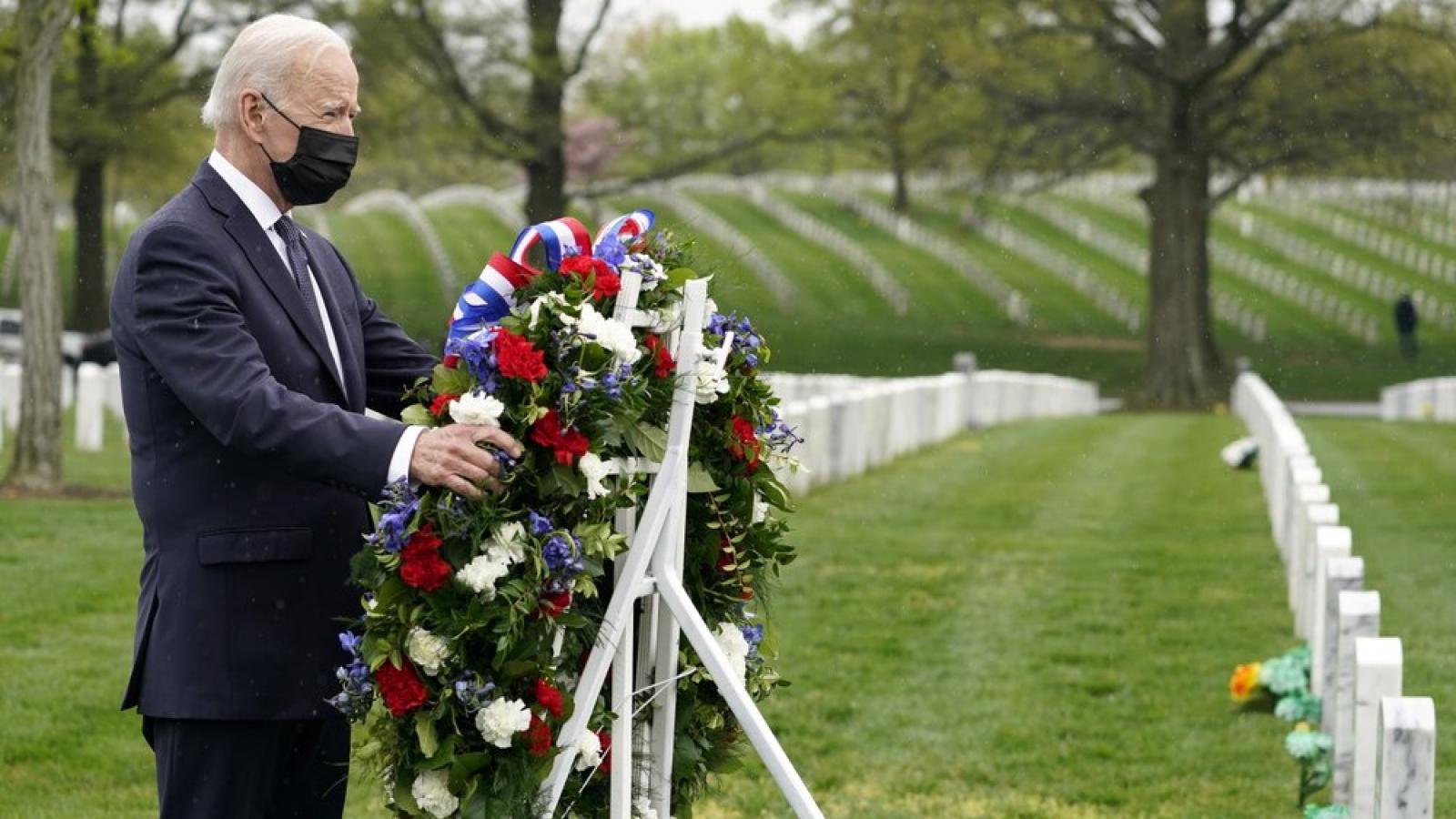 Tổng thống Mỹchính thức công bố kế hoạch rút quânkhỏi Afghanistan