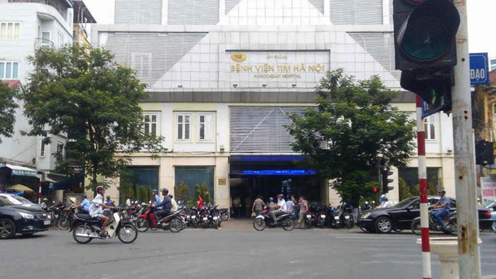 """""""Cơ quan công an đang lấy tài liệu tại BV Tim Hà Nội và chưa có kết luận"""""""