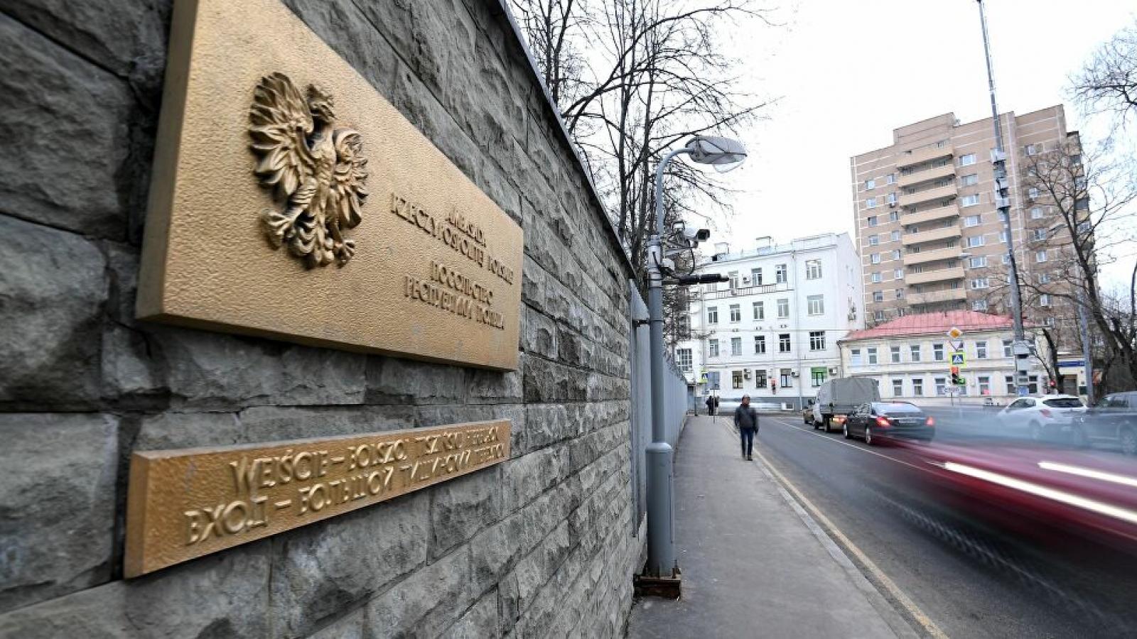 Nga trục xuất 5 nhân viên Đại sứ quán Ba Lan