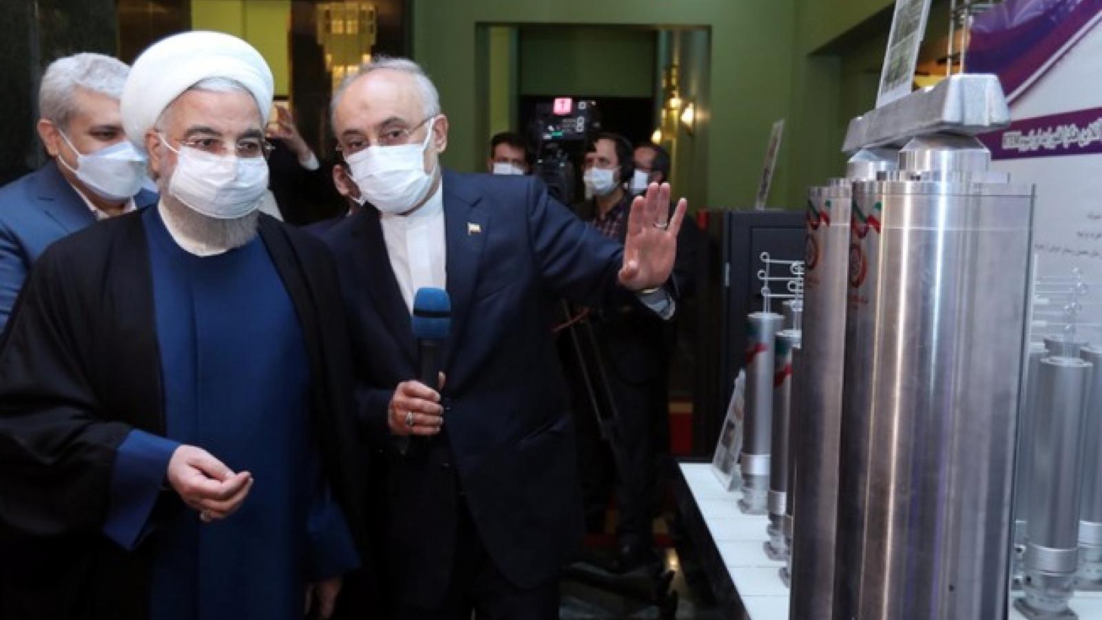 Iran đẩy mạnh làm giàu uranium, gây sức ép lên cuộc đàm phán hạt nhân tại Áo