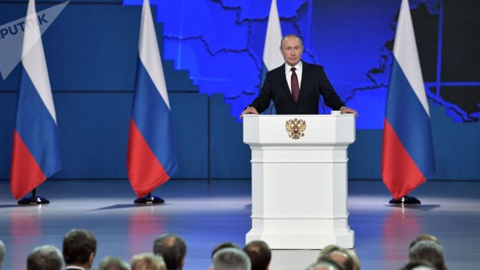 Putin: Nga sẽ tìm cách bảo vệ lợi ích của mình nếu các nước khác từ chối đối thoại