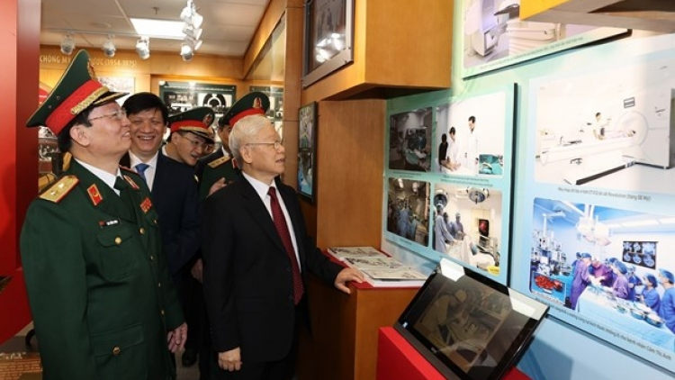 108 Military Central Hospital marks 70th anniversary
