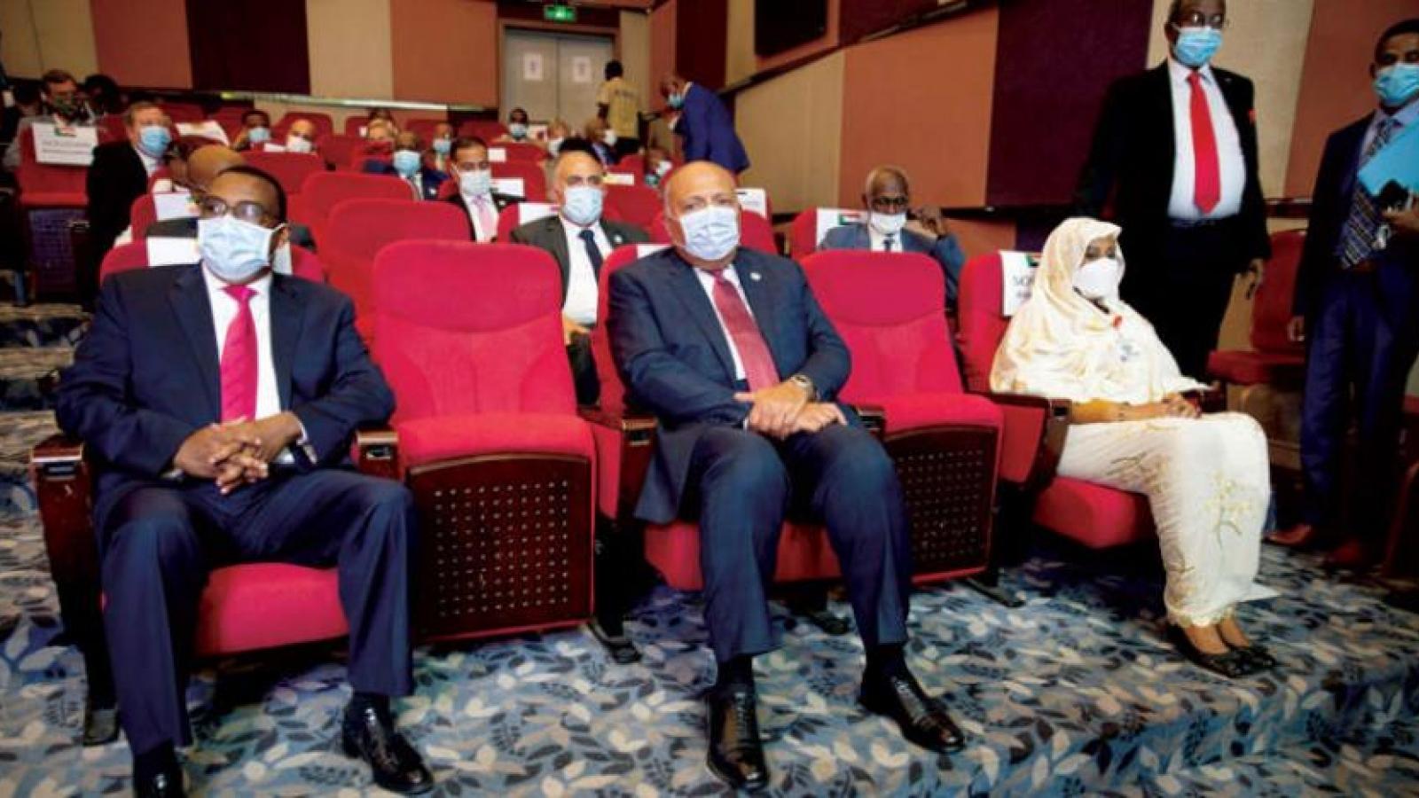 Ai Cập và Sudan bác bỏ đề xuất chia sẻ thông tin của Ethiopia về đợt tích nước thứ 2