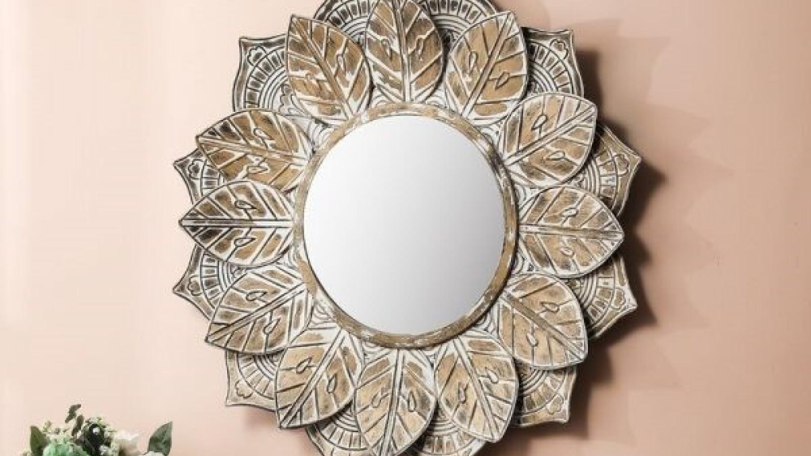 Những mẫu gương trang trí đẹp tinh xảo như tác phẩm nghệ thuật