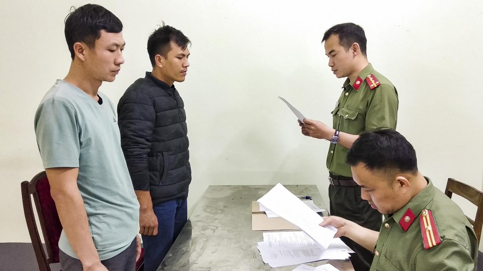 Khởi tố 4 đối tượng tổ chức đưa người xuất cảnh trái phép từ Trung Quốc sang Lào