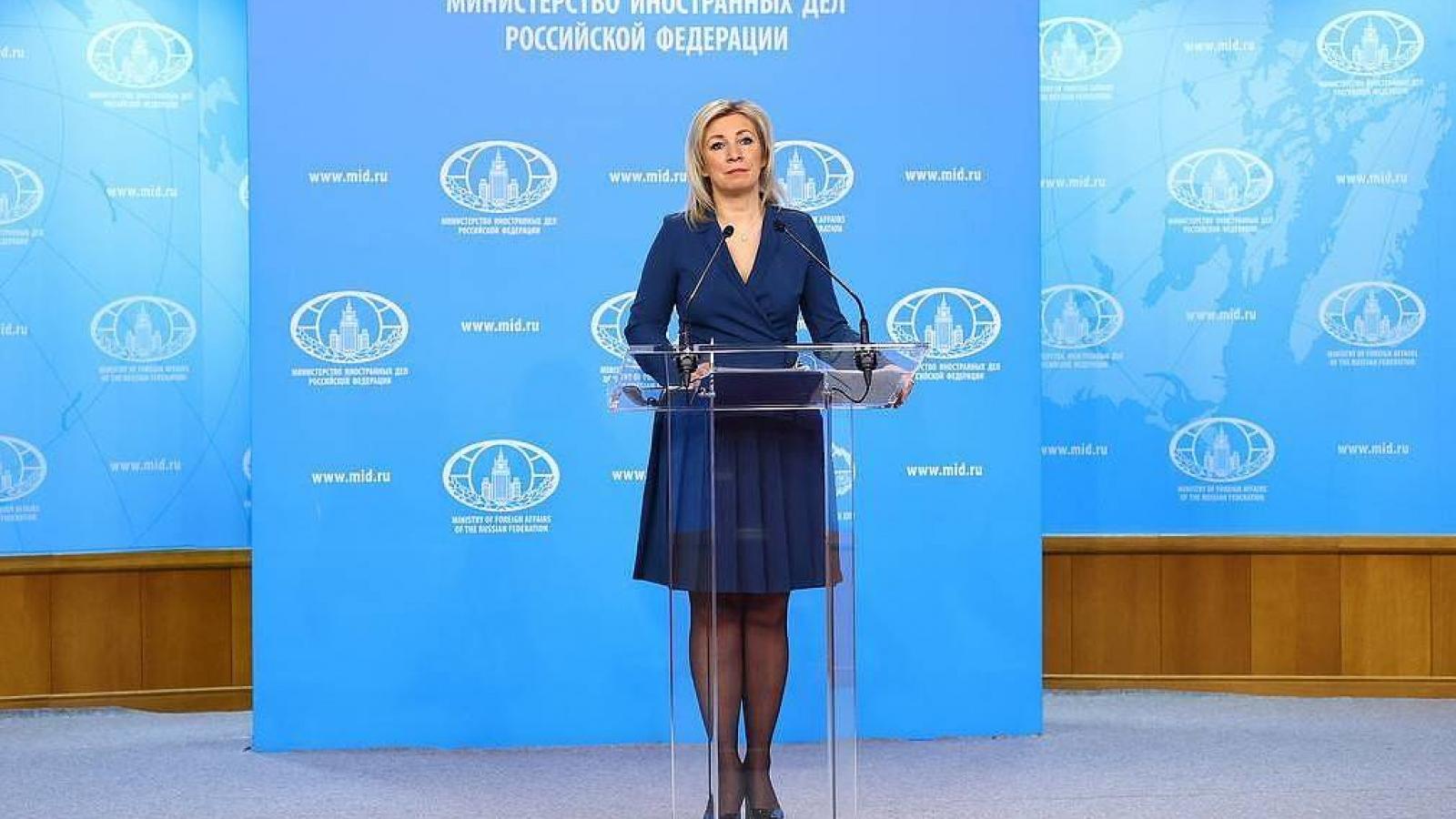 Nga khẳng định sẽ đáp trả các nước Baltic vì trục xuất các nhà ngoại giao của mình