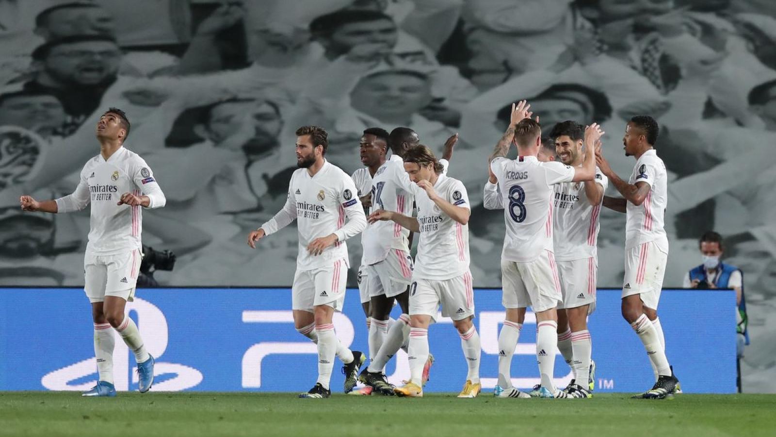 Real Madrid tái lập tỷ số trận chung kết Champions League 2018 trước Liverpool