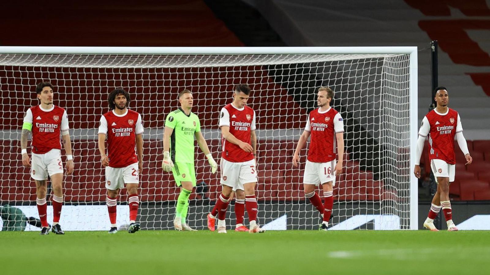 Thủng lưới phút bù giờ, Arsenal đánh rơi chiến thắng trước Slavia Praha