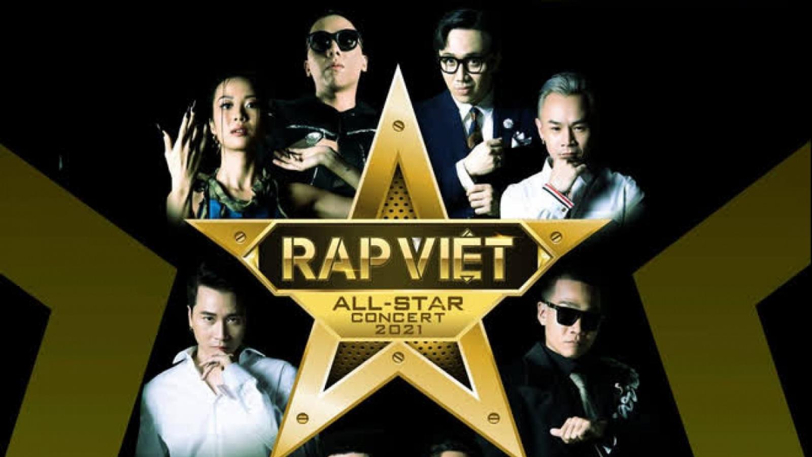 """Concert """"Rap Việt All-Star"""" chính thức trở lại sau khi tạm hoãn vì Covid-19"""