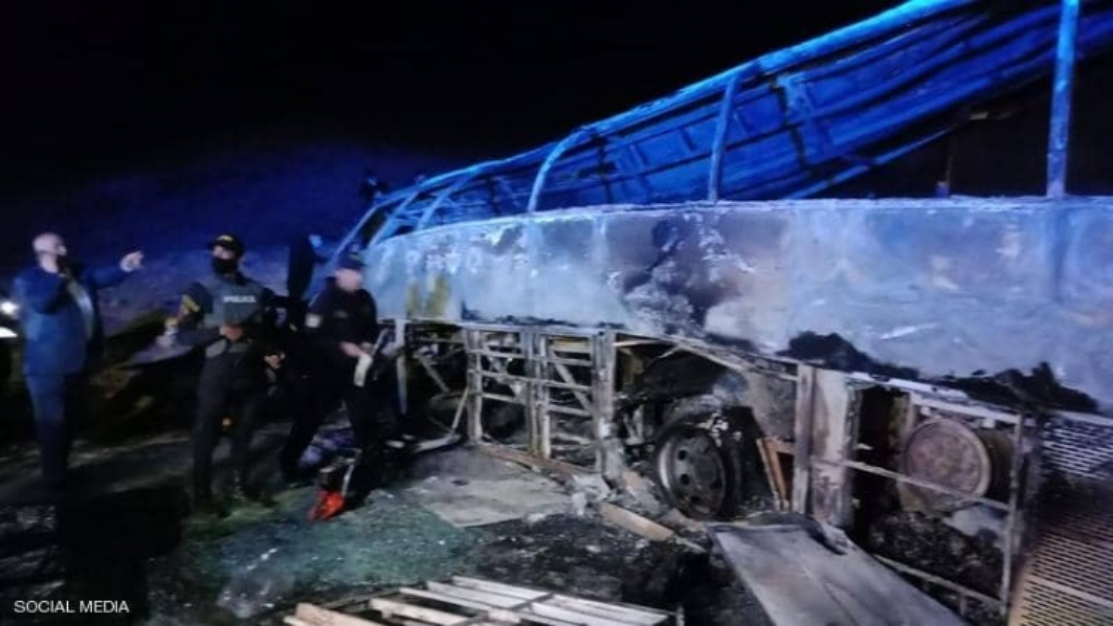 Tai nạn giao thông nghiêm trọng ở Ai Cập, hơn 20 người thương vong