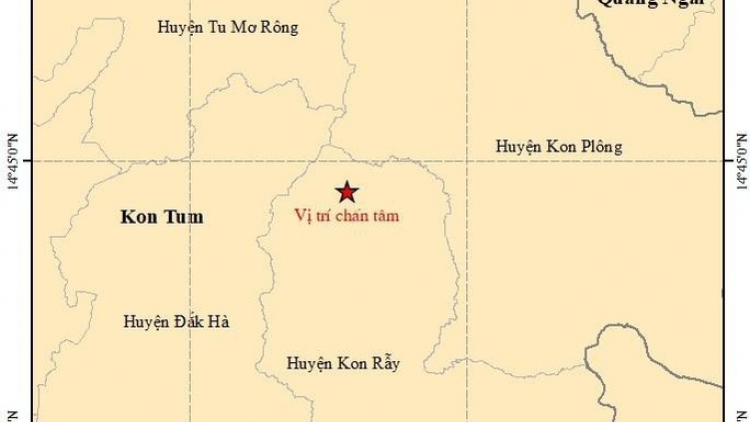 Central Highlands hit by string of minor earthquakes