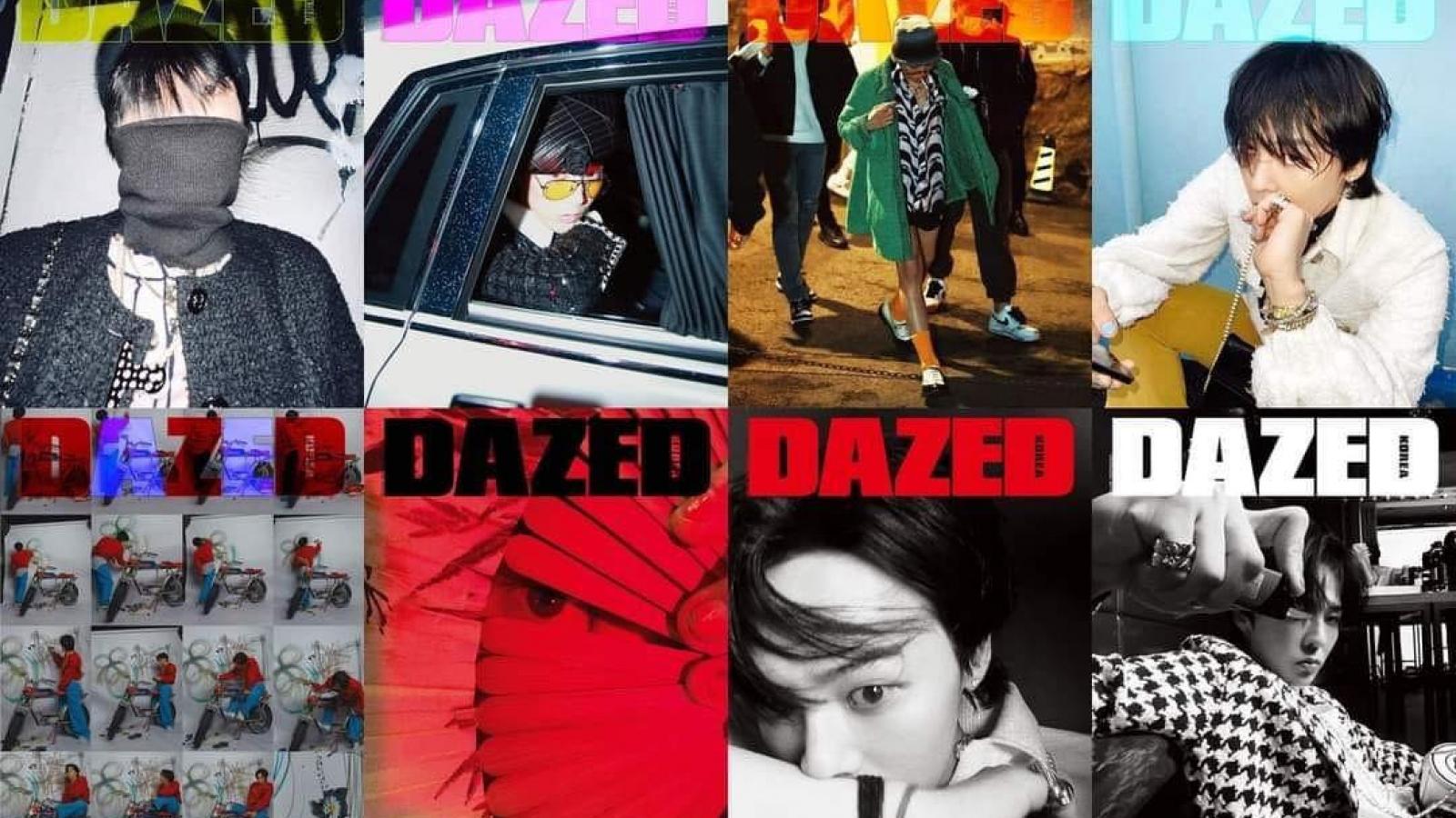 """G-Dragon khẳng định đẳng cấp """"Ông hoàng thời trang"""" với 8 trang bìa tạp chí"""