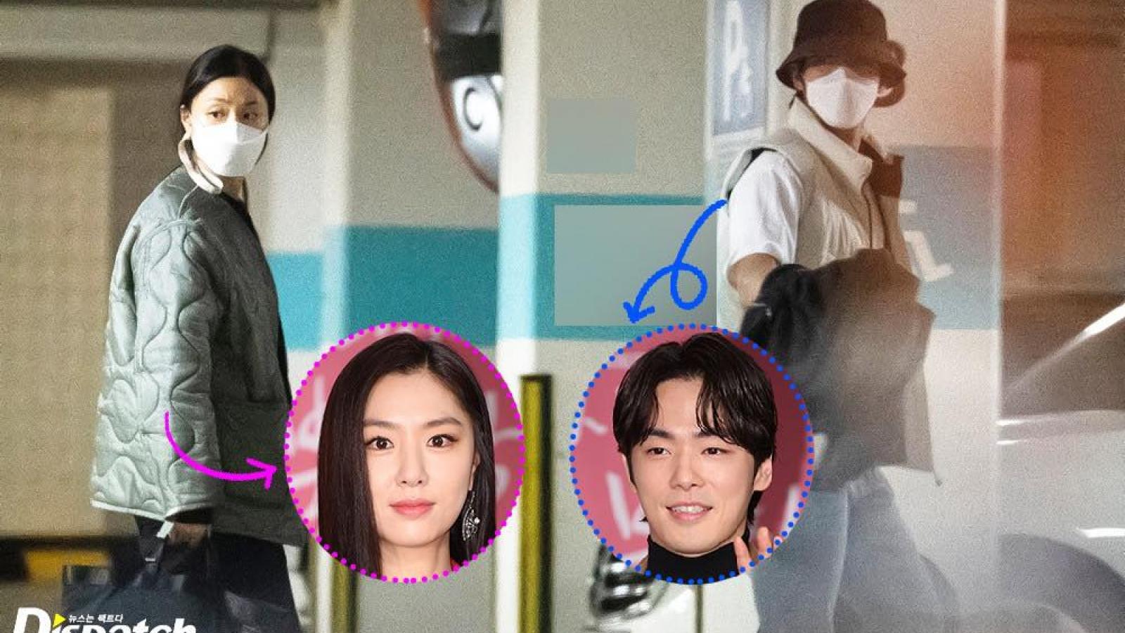 """Dispatch tung ảnh hẹn hò của cặp đôi """"Hạ cánh nơi anh"""" Seo Ji Hye và Kim Jung Hyun"""