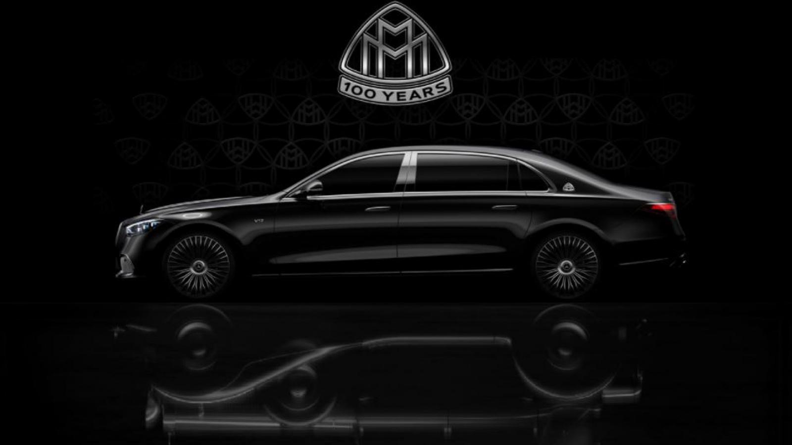 Mercedes hé lộ hình ảnh mới nhất về mẫu flagship Maybach S-Class động cơ V12