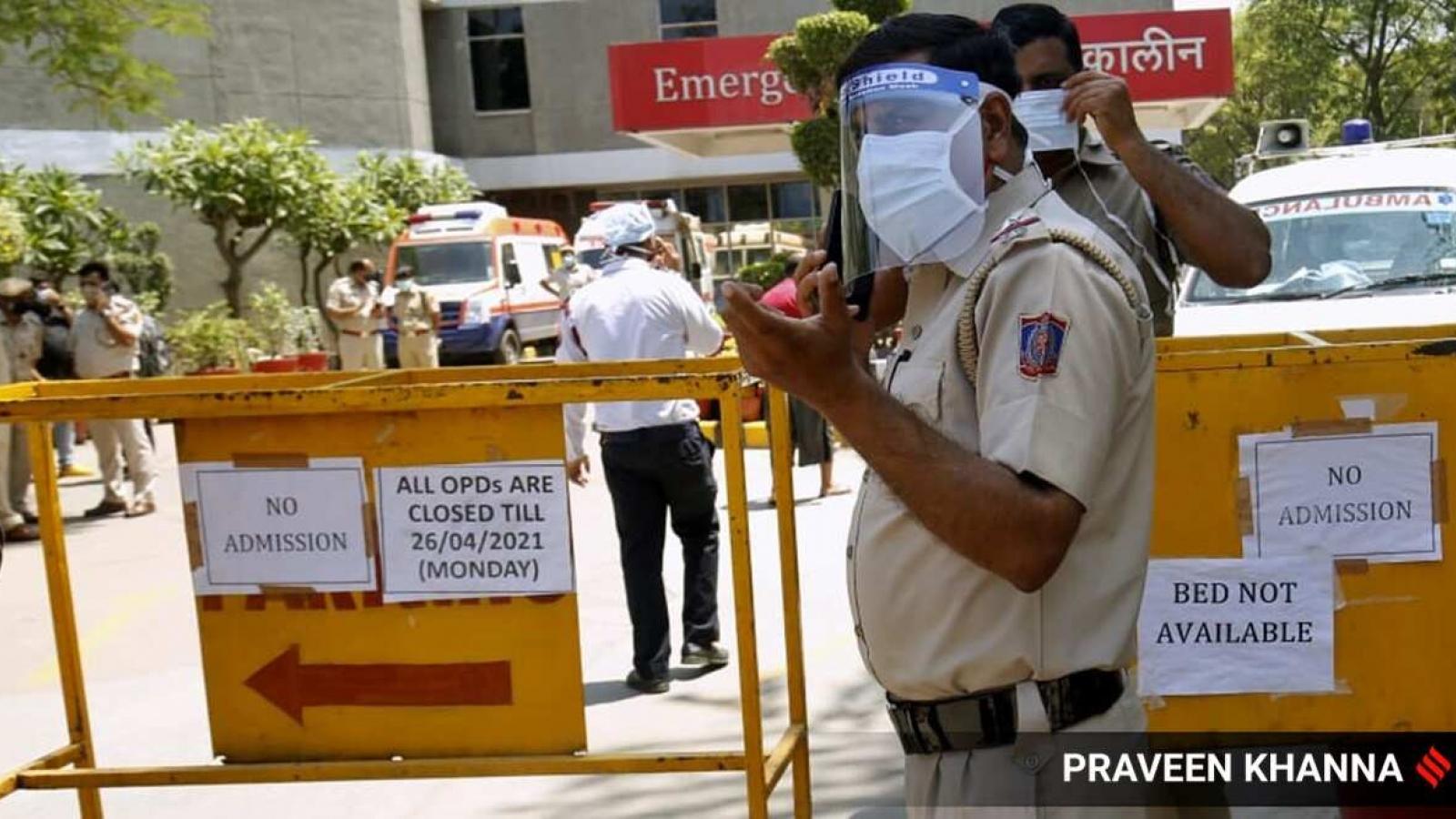 Dịch Covid-19 diễn biến nghiêm trọng, Ấn Độ gia hạn lệnh phong tỏa thủ đô