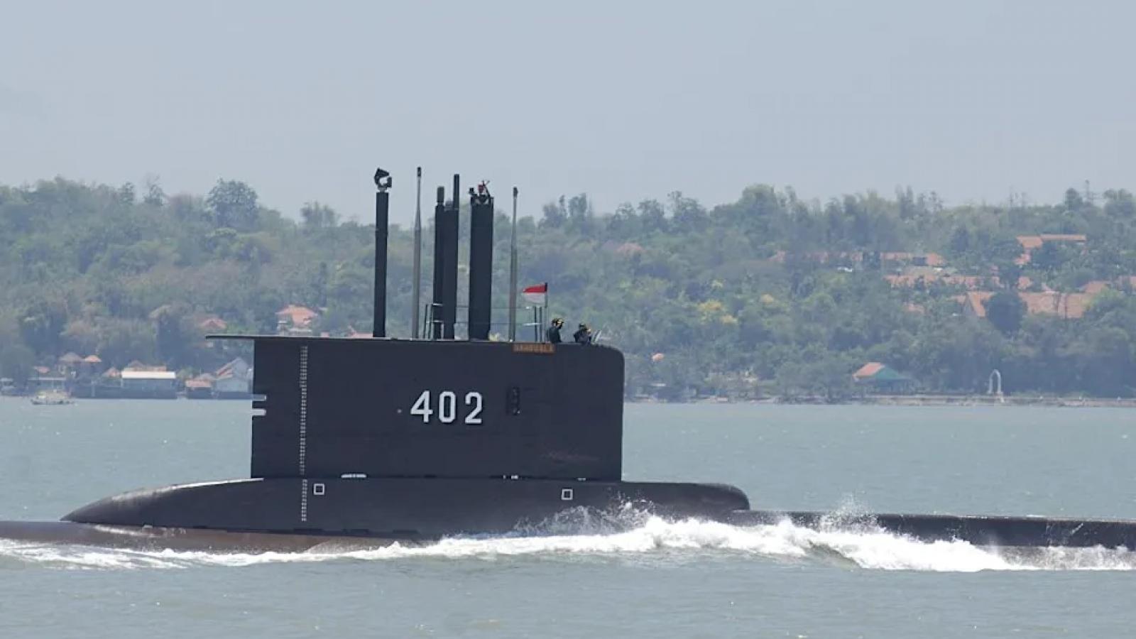 Phát hiện vật thể bí ẩn nghi là tàu ngầm Indonesia mất tích