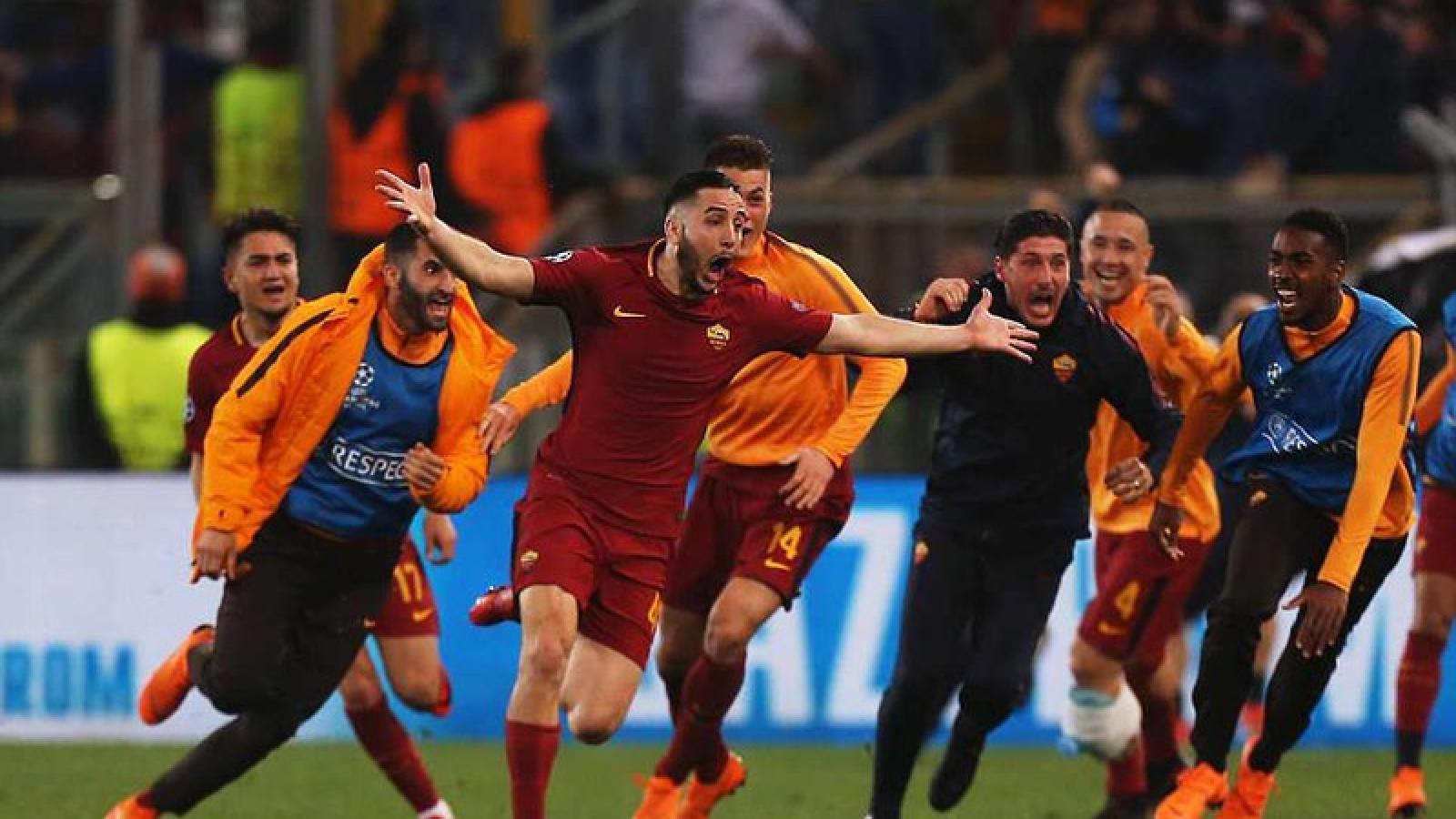 """Ngày này năm xưa: AS Roma """"lội ngược dòng"""" không tưởng trước Barca"""