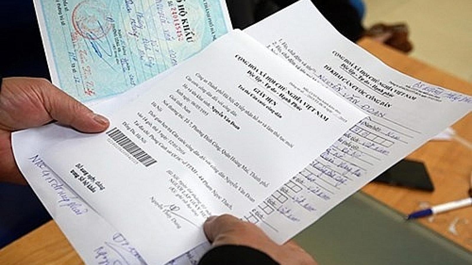 Từ 1/7, giải quyếtthủ tục đăng ký thường trú quy định thời gian bao lâu?