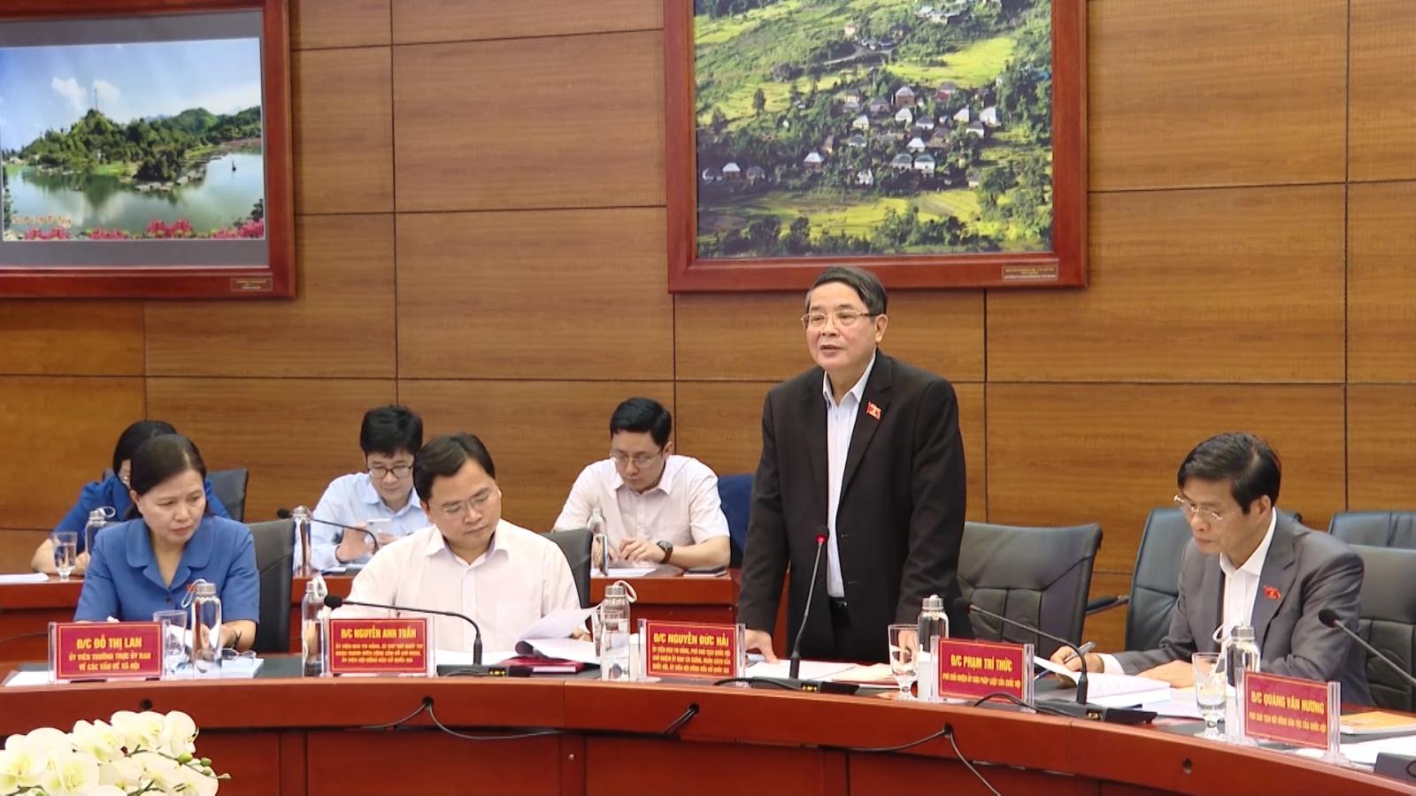 Phó Chủ tịch Quốc hội Nguyễn Đức Hải: Muốn tổ chức tốt bầu cử, trước hết phải an dân