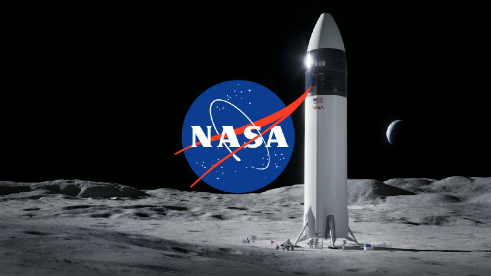 NASA ký hợp đồng trị giá 2,89 tỷ USD để đưa người lên Mặt Trăng