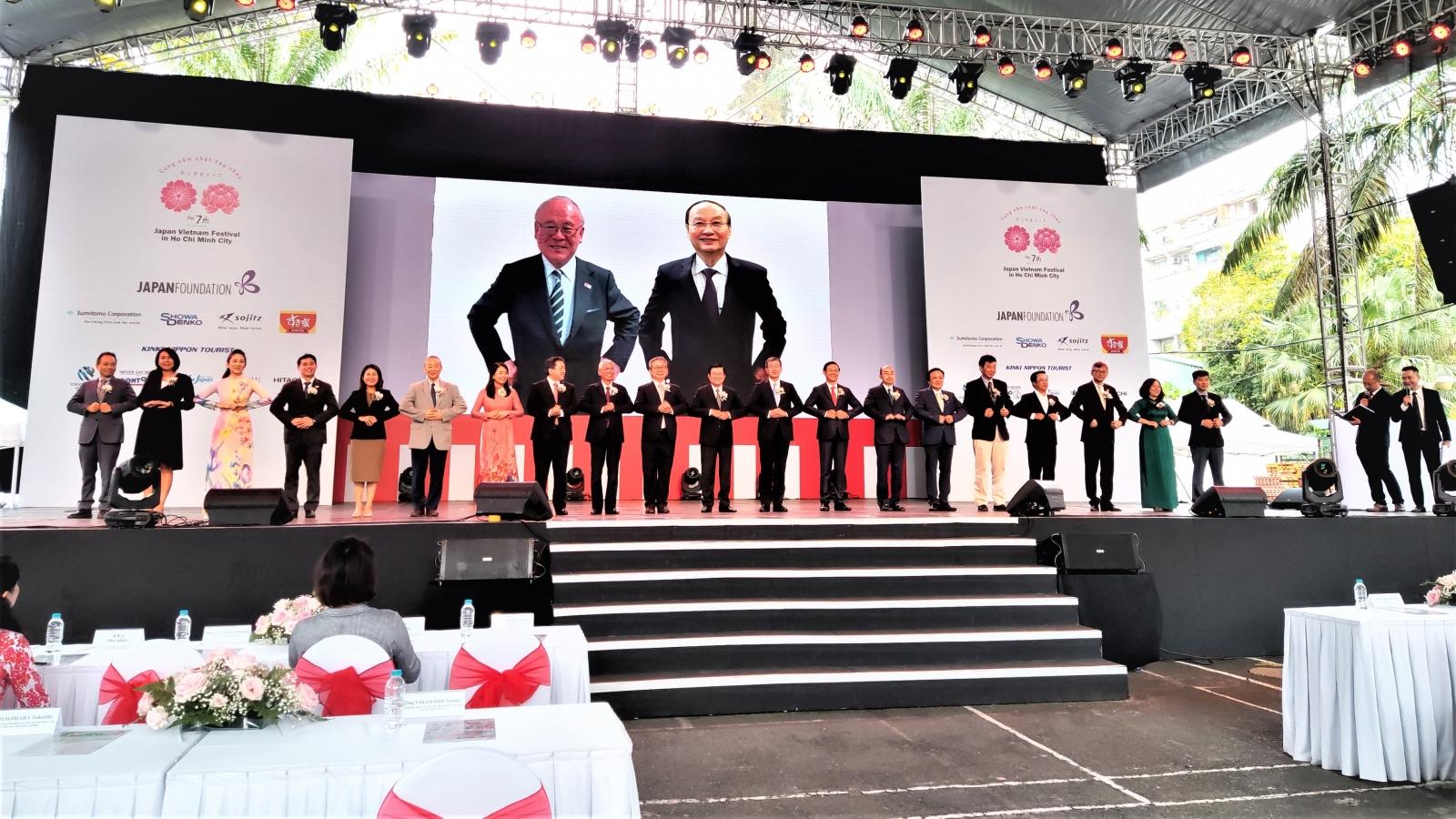 Khai mạc Lễ hội Nhật - Việt lần thứ 7 tại TPHCM