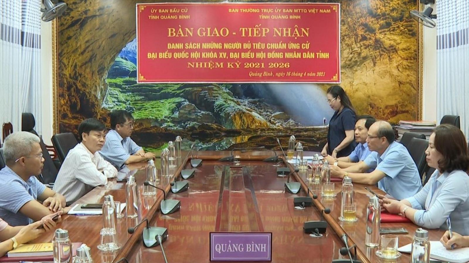 17 khu vực tại Quảng Bình đề nghị được bầu cử sớm