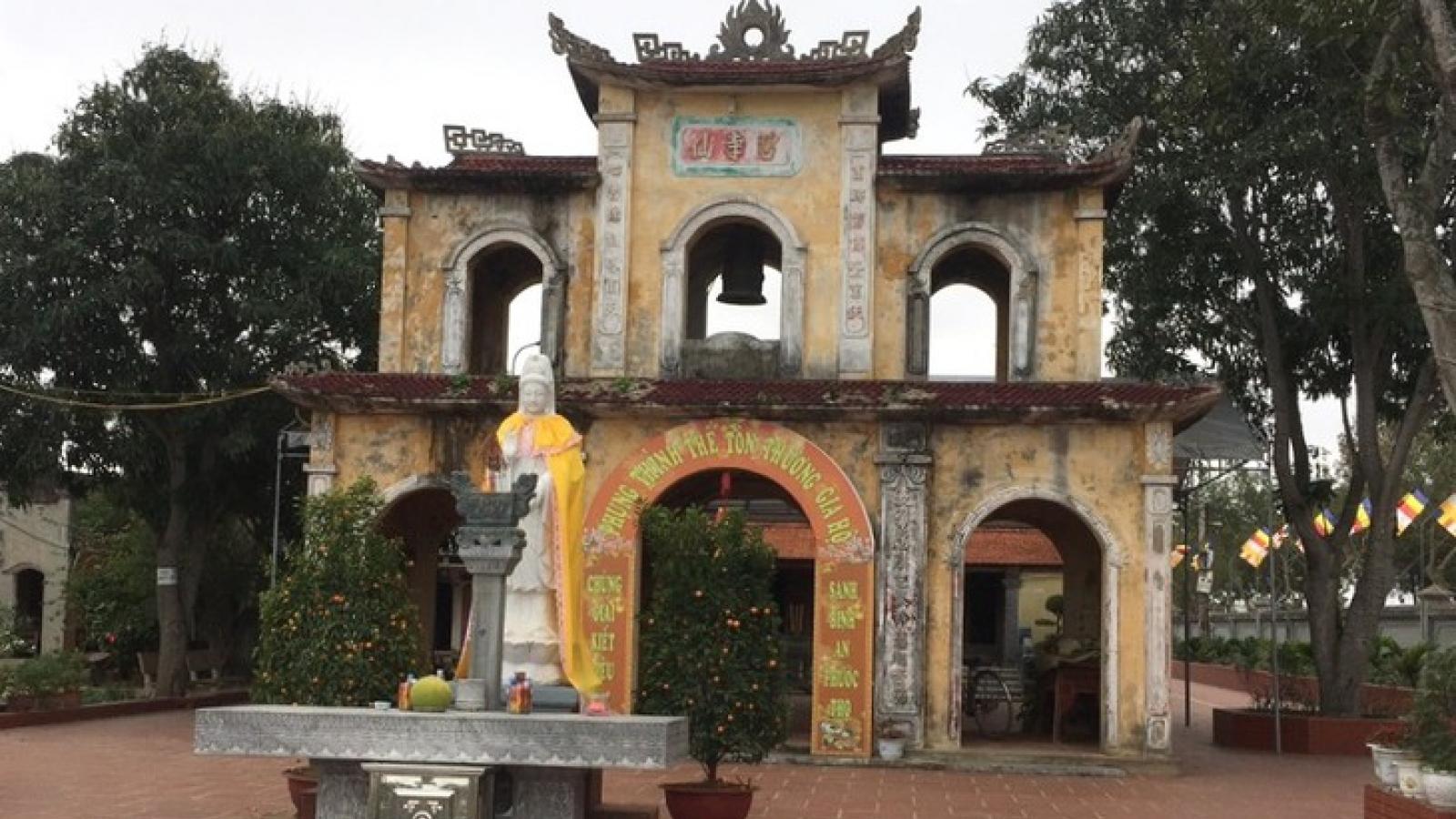 Ngôi chùa thời Trần ở vùng sông Mã