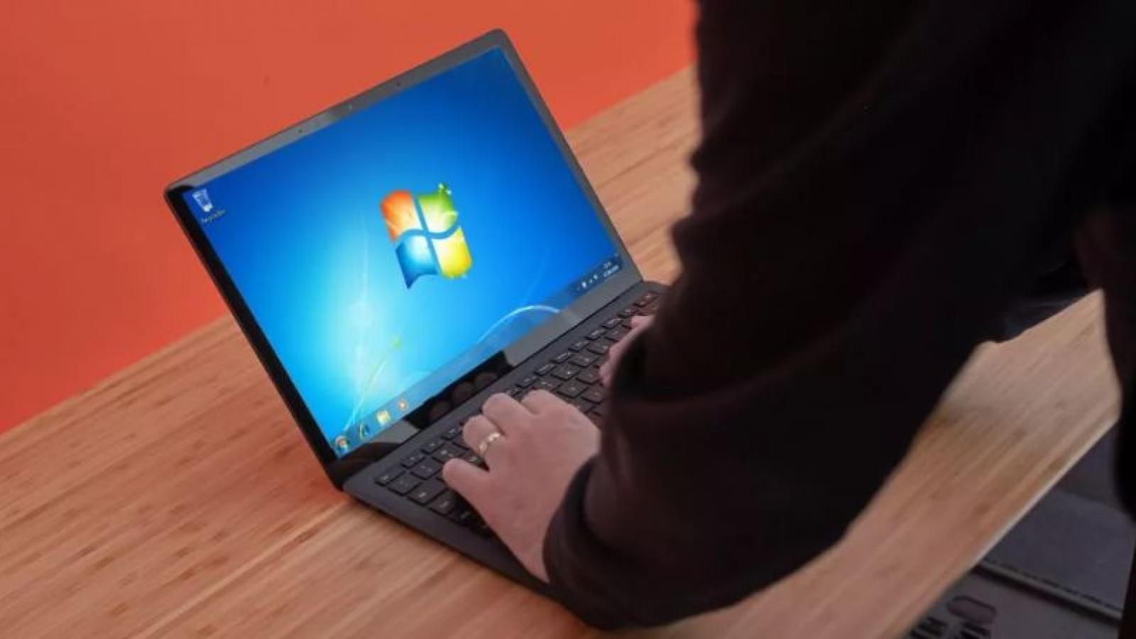 Gần 1/4 người dùng PC vẫn đang sử dụng Windows 7