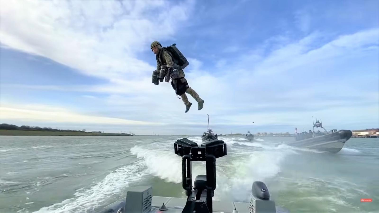 Thiết bị bay phản lực có thể thay đổi chiến thuật của các trận chiến trong tương lai?