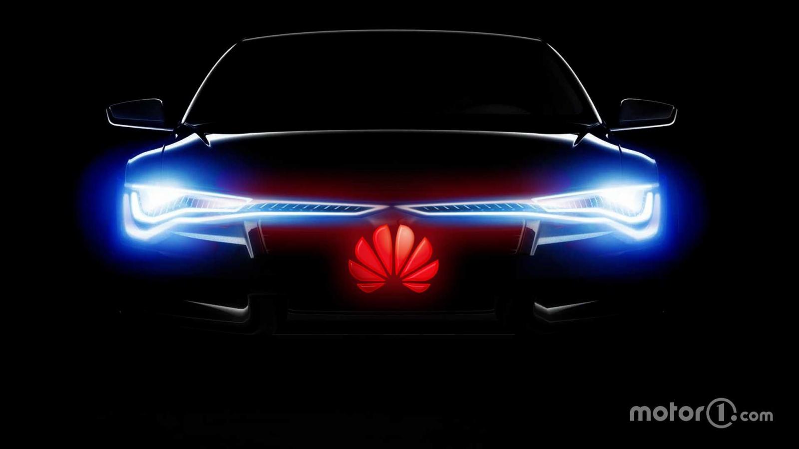 Huawei và Arcfox trình làng mẫu ô tô điện thông minh mới