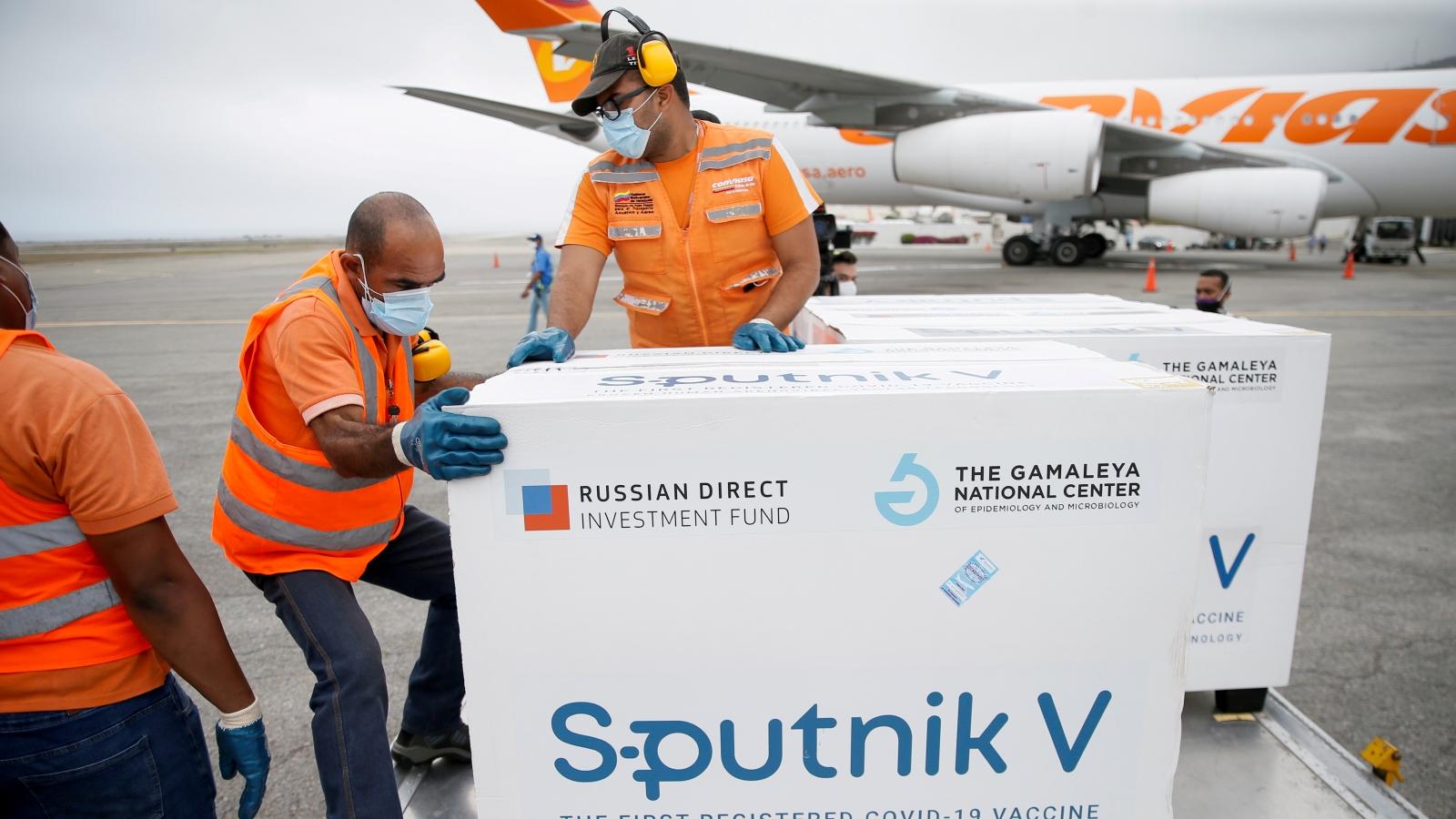Đức đàm phán mua vaccine Sputnik V của Nga