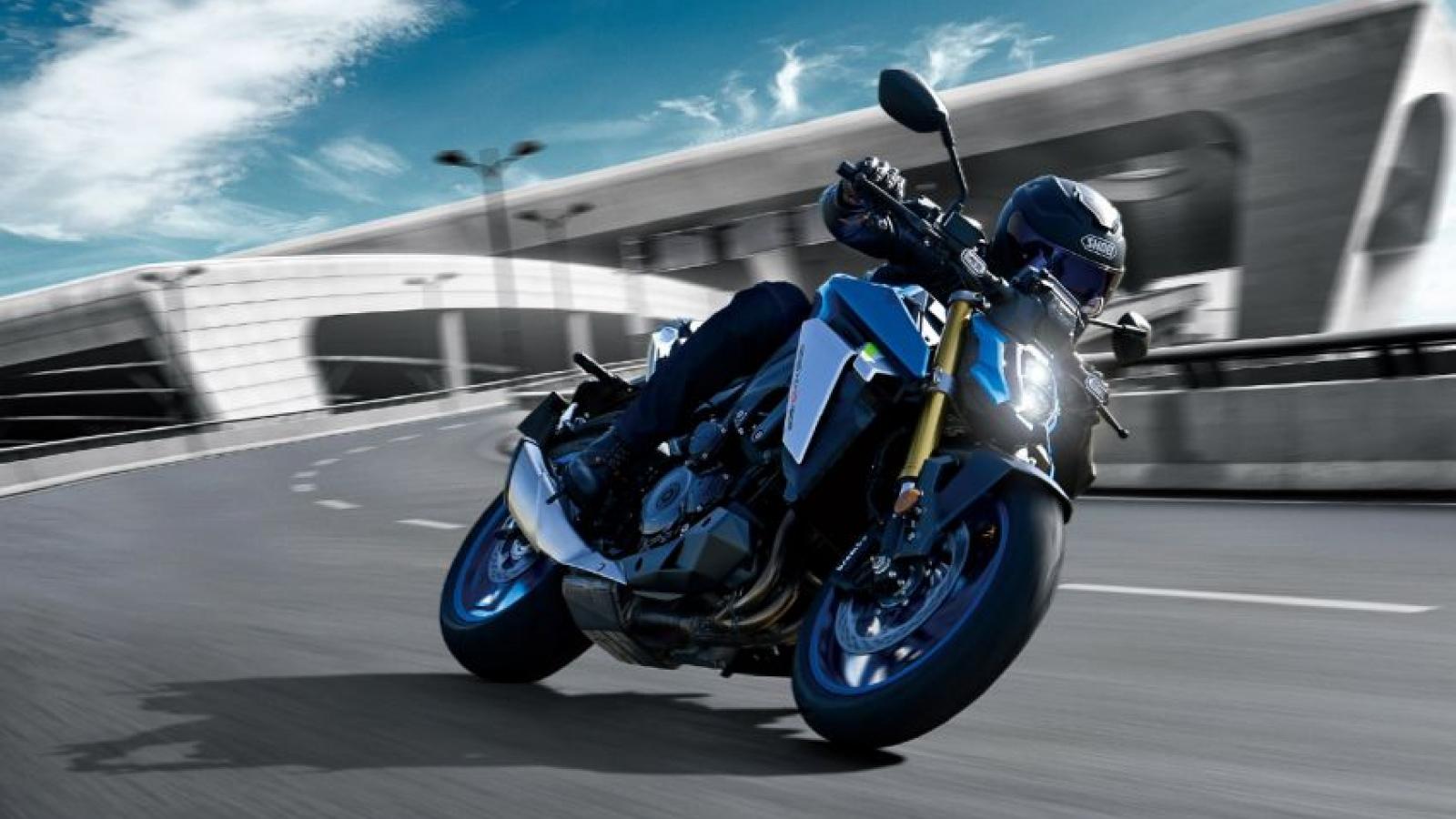 Suzuki GSX-S1000 nâng cấp mạnh mẽ cho năm 2022