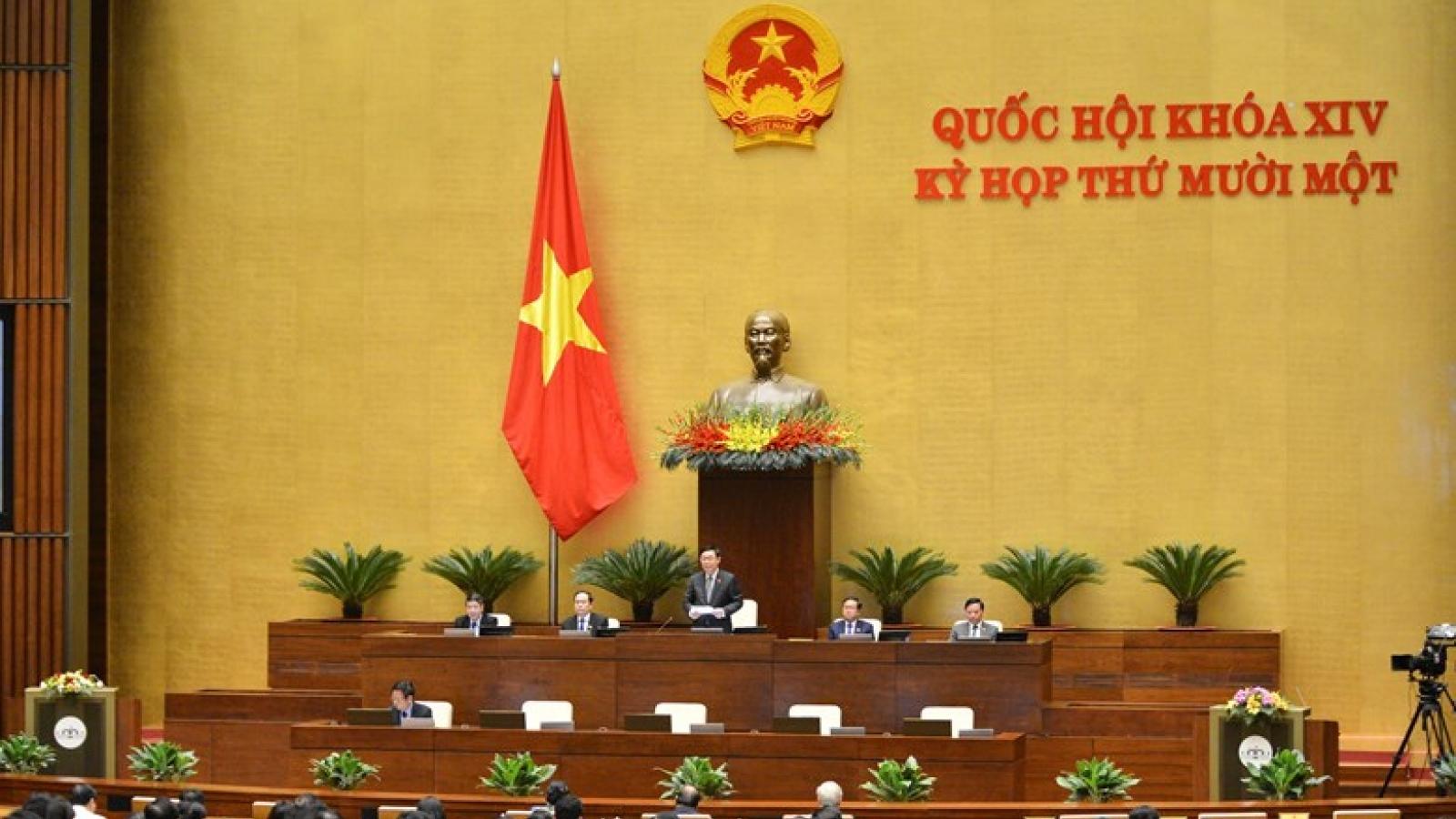 Infographic: Bộ máy lãnh đạo Quốc hội Việt Nam sau kiện toàn