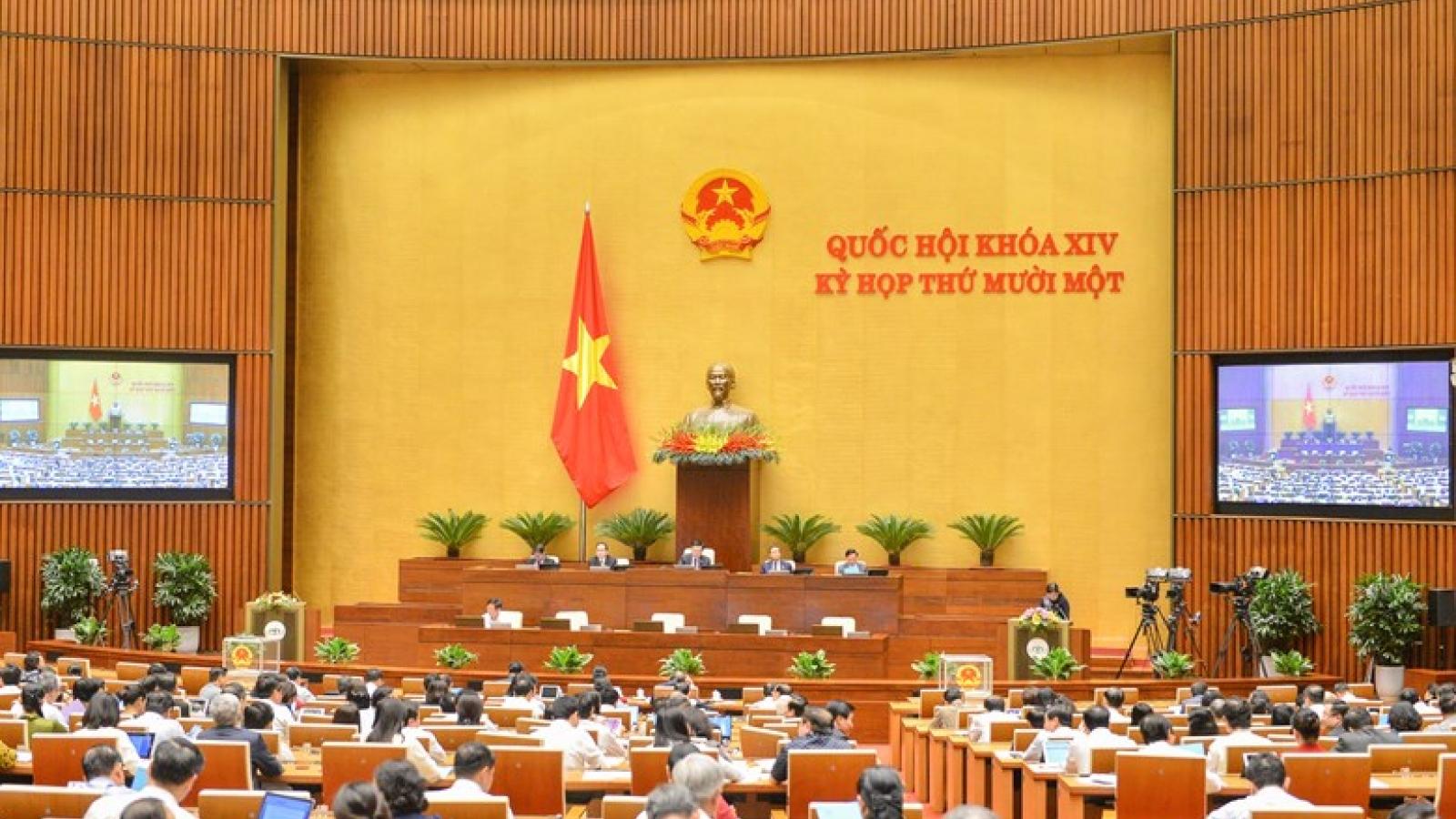 Phê chuẩn miễn nhiệm một số thành viên Hội đồng Bầu cử Quốc gia