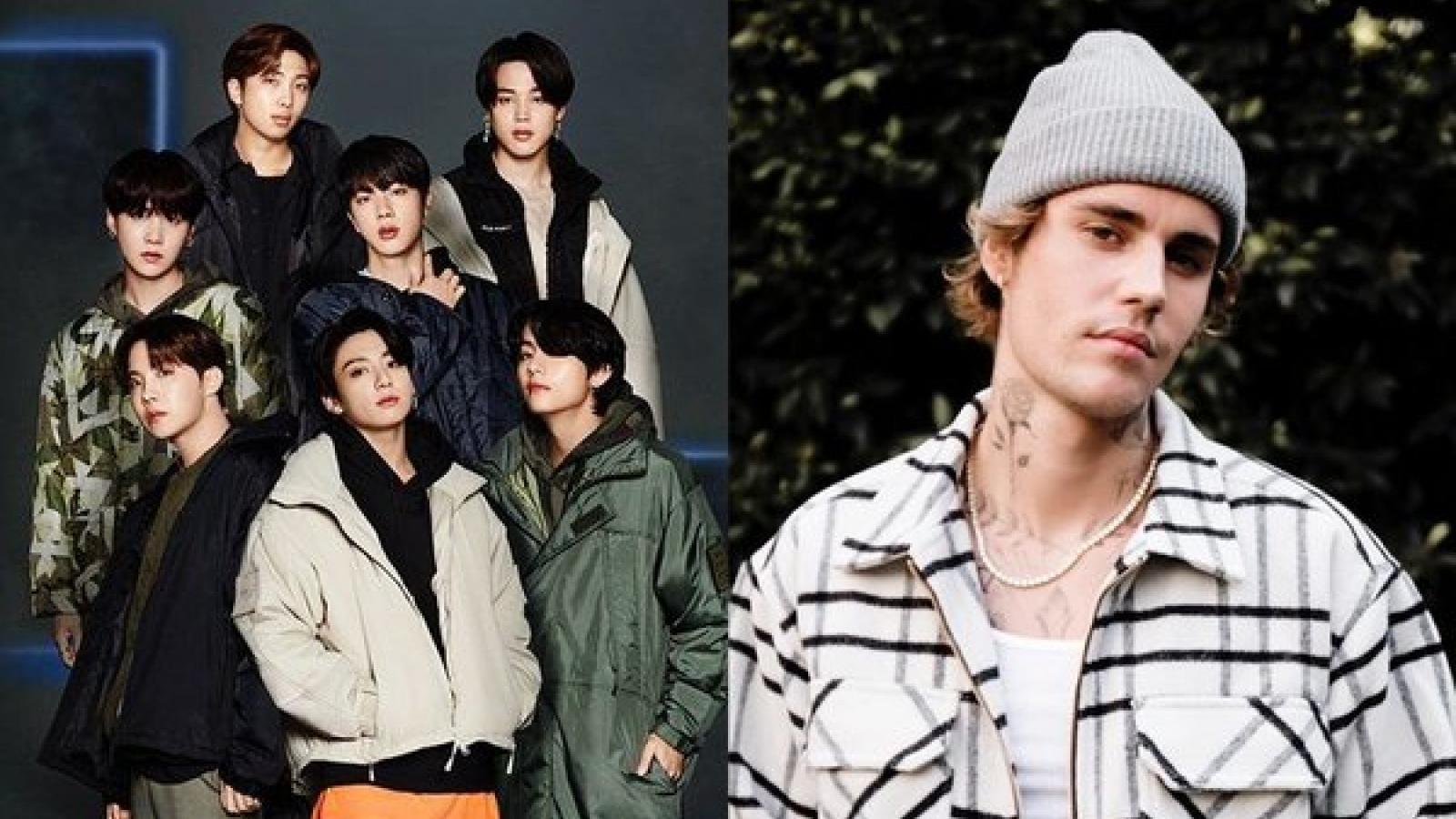 BTS hợp tác với Justin Bieber trong ca khúc mới?