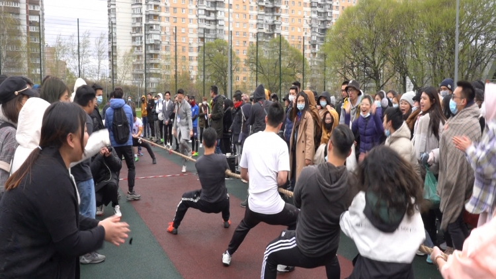 Sinh viên Việt Nam tại Nga tổ chức Đại hội thể thao nhân dịp các ngày lễ lớn của dân tộc