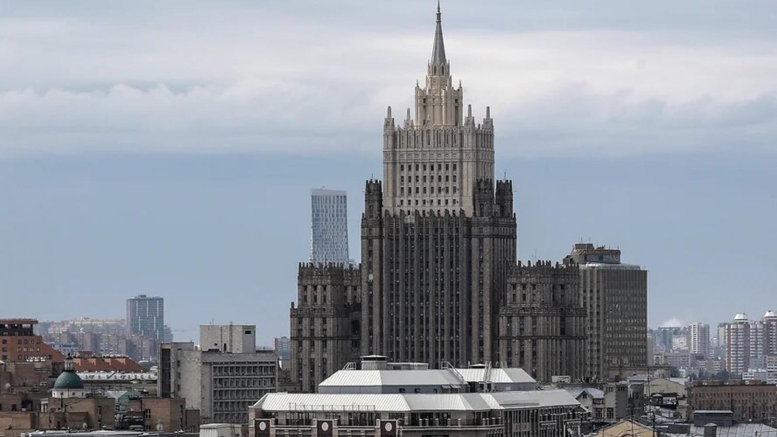 Nga trục xuất tùy viên hải quân thuộc Đại sứ quán Italia ở Moscow