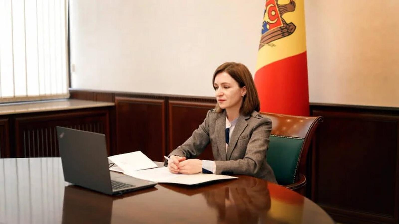 Tổng thống Moldova ký sắc lệnh giải tán quốc hội sớm