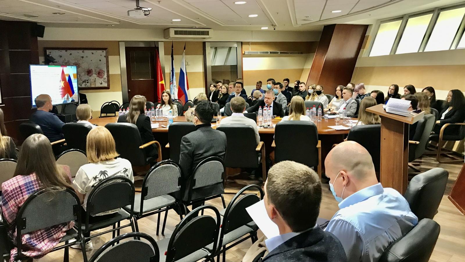 Ngày Việt Nam tại trường Đại học Quan hệ Quốc tế Moscow (Nga) lần thứ 6
